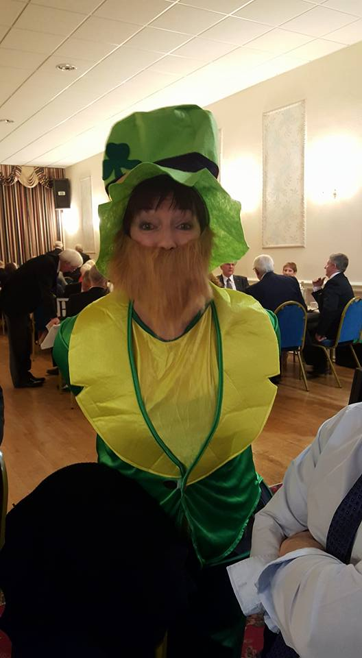 St Patricks Day in Chorley at Cunliffe Hall