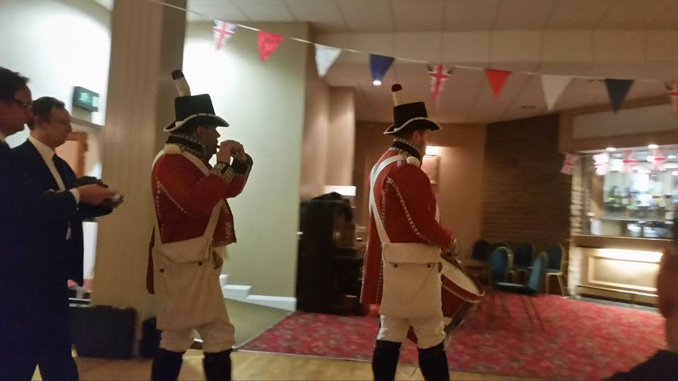 Trafalgar Night at Cunliffe Hall in Chorley
