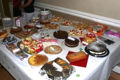 Mcmillan Coffee Morning at Cunliffe Hall Chorley Cakes
