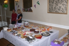 Mcmillan Coffee Morning at Cunliffe Hall Chorley Geraldine Dalley