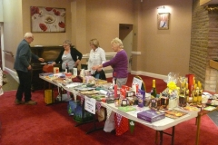Mcmillan Coffee Morning at Cunliffe Hall Chorley Tombola
