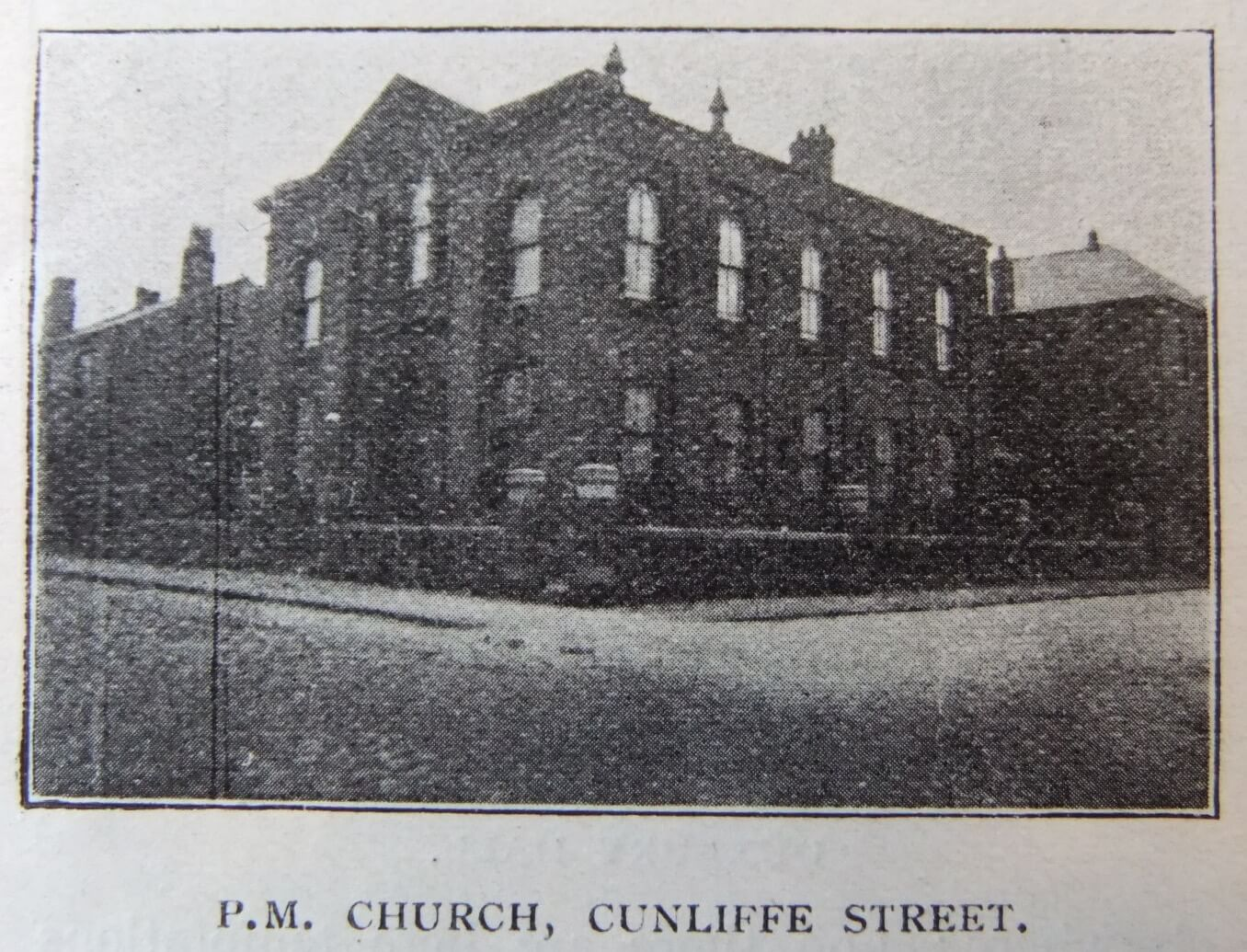 Primitive Methodist Church Cunliffe Hall Chorley