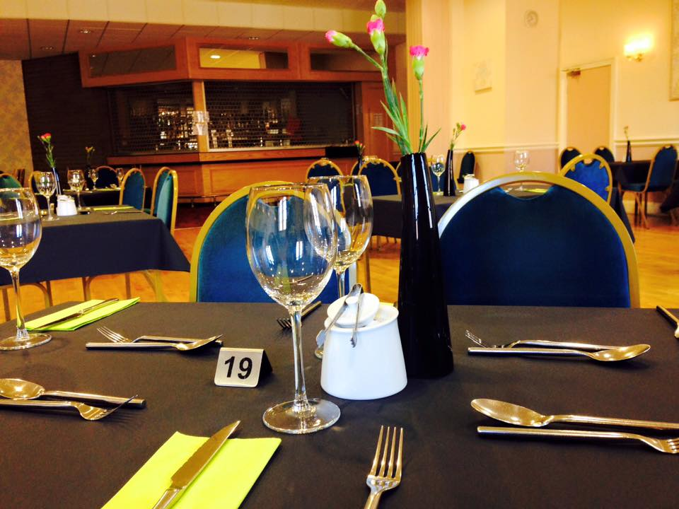 Catering at Cunliffe Hall in Chorley