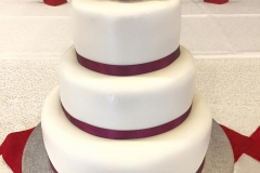 Layered Cake at Cunliffe Hall in Chorley