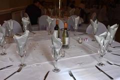 Table arranged