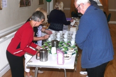 Mcmillan Coffee Morning at Cunliffe Hall Chorley Tea and Coffee